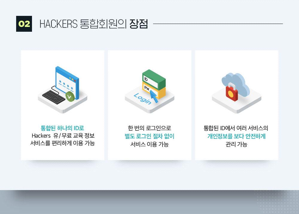 02.해커스 통합회원의 장점